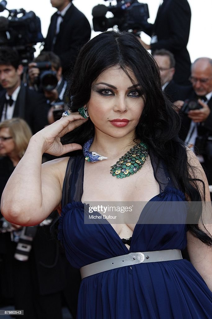 Haifa Wahbi attends the 'Broken Embraces' premiere at the Grand Theatre Lumiere during the 62nd Annual Cannes Film Festival on May 19, 2009 in Cannes, France.