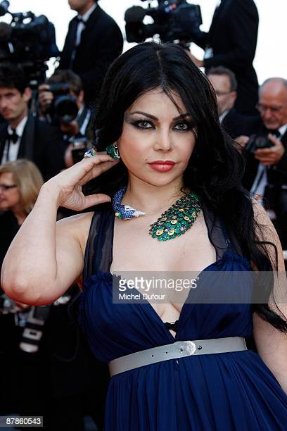 Haifa Wahbi attends the 'Broken Embraces' premiere at the Grand Theatre Lumiere during the 62nd Annual Cannes Film Festival on May 19 2009 in Cannes...
