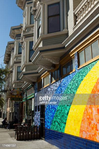 Summer of love 1967 stock photos and pictures getty images for Bob marley mural san francisco