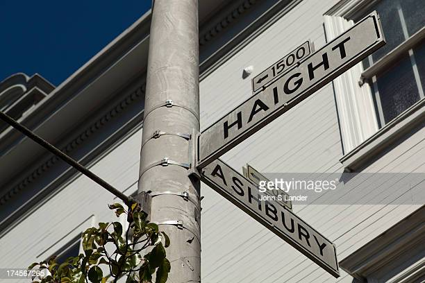 HaightAshbury is a district of San Francisco named for the intersection of Haight and Ashbury streets It is also called The Haight The street names...