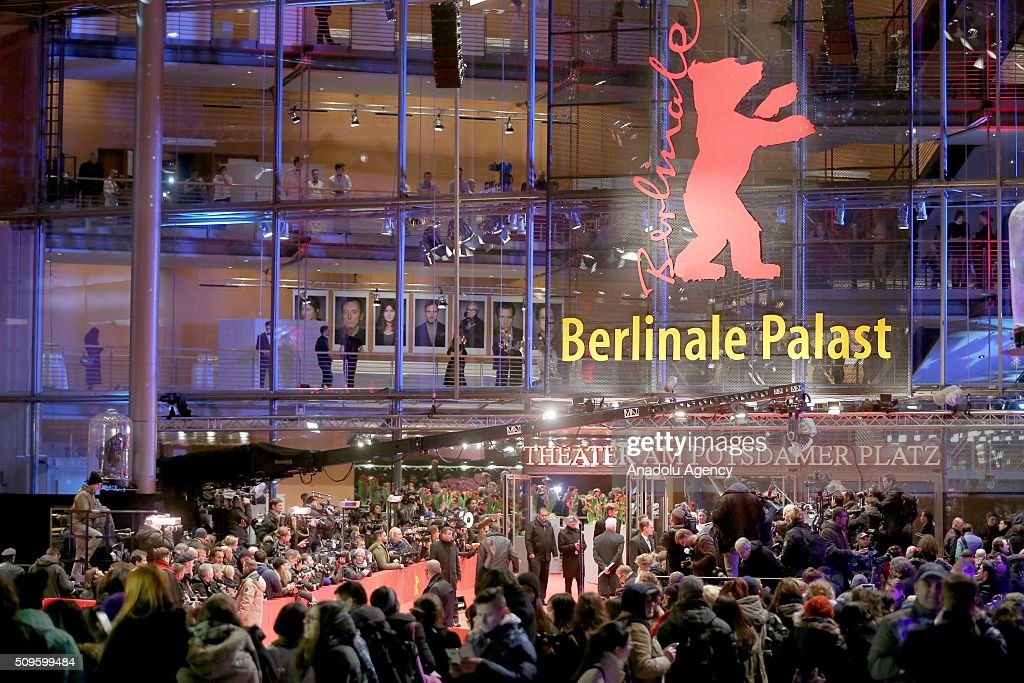 'Hail, Caesar!' premiere is held during the 66th Berlinale International Film Festival Berlin at Berlinale Palace in Berlin, Germany on February 11, 2016.