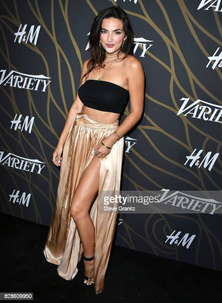 Hailee Lautenbach arrives at the Variety Power Of Young Hollywood at TAO Hollywood on August 8 2017 in Los Angeles California