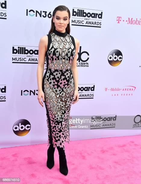 Hailee Steinfeld arrives at the 2017 Billboard Music Awards at TMobile Arena on May 21 2017 in Las Vegas Nevada