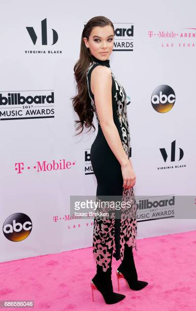 Hailee Steinfeld arrives at the 2017 Billboard Music Awards presented by Virginia Black at TMobile Arena on May 21 2017 in Las Vegas Nevada
