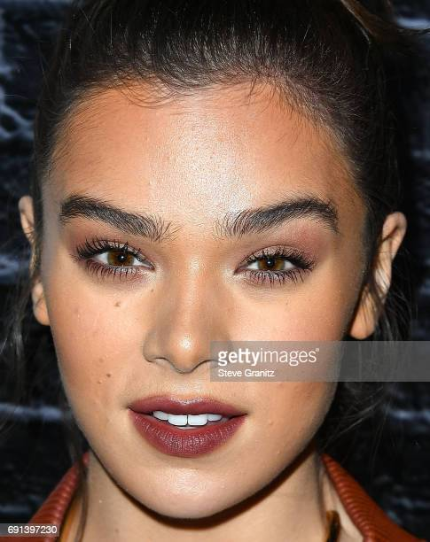 Hailee Steinfeld arrives at the Prive Revaux Launch Event at Chateau Marmont on June 1 2017 in Los Angeles California