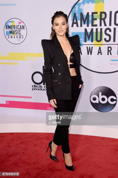 Hailee Steinfeld attends 2017 American Music Awards at Microsoft Theater on November 19 2017 in Los Angeles California
