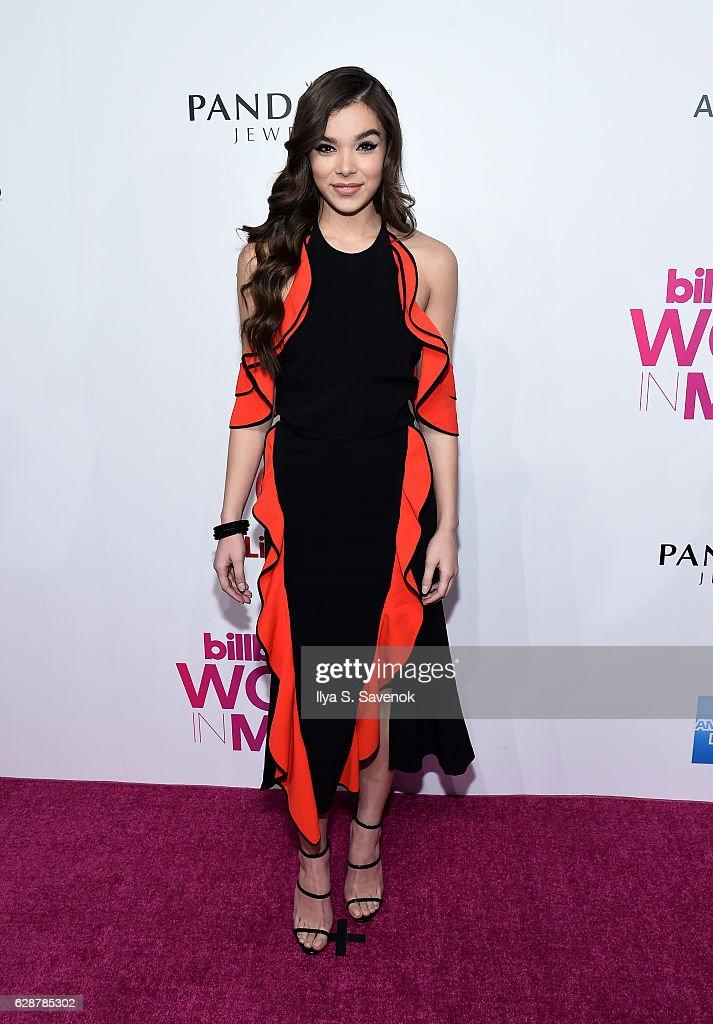 Hailee Steinfeld attends Billboard Women In Music 2016 Airing December 12th On Lifetime at Pier 36 on December 9, 2016 in New York City.