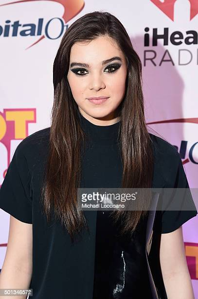 Hailee Steinfeld attends Hot 995's Jingle Ball 2015 presented by Capital One at Verizon Center on December 14 2015 in Washington DC