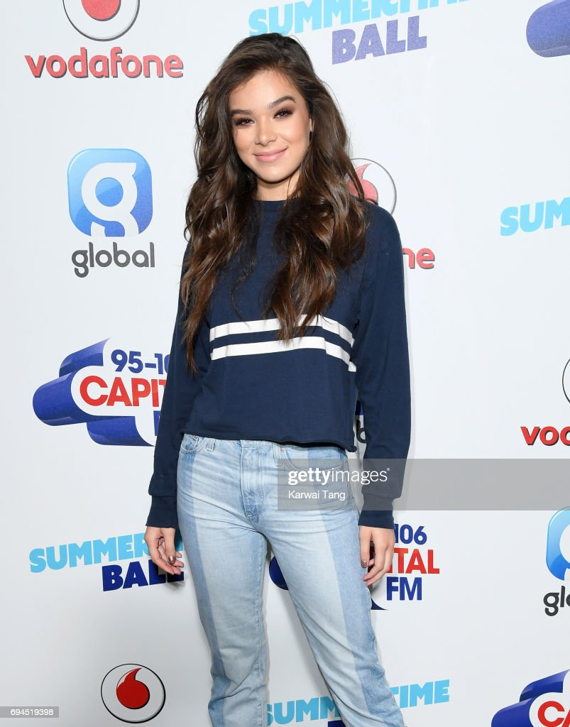 Hailee Steinfeld attends the Capital Summertime Ball at Wembley Stadium on June 10, 2017 in London, United Kingdom.