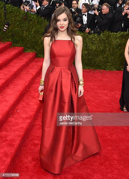 Hailee Steinfeld attends the 'China Through The Looking Glass' Costume Institute Benefit Gala at the Metropolitan Museum of Art on May 4 2015 in New...