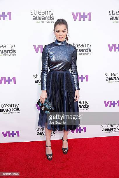 Hailee Steinfeld attends VH1's 5th Annual Streamy Awards at Hollywood Palladium on September 17 2015 in Los Angeles California
