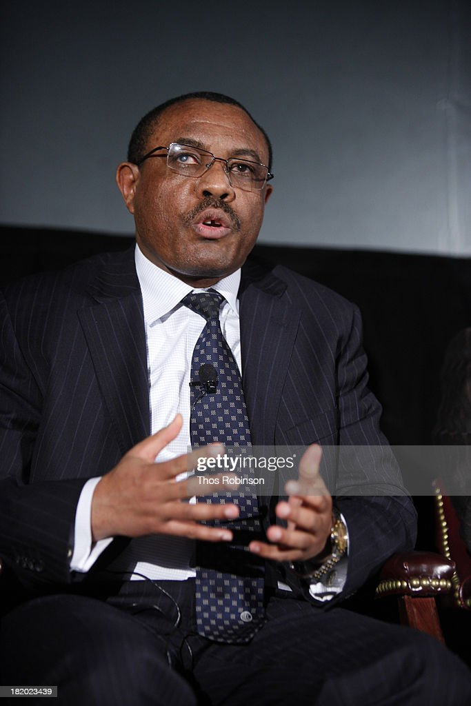 H.E. Hailemariam Dessalegn, Prime Minister of the Federal Democratic Republic of Ethiopia and Chair of the African Union attends Africa-America Institute 60th Anniversary Awards Gala at New York Hilton on September 25, 2013 in New York City.
