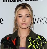 Hailey Baldwin attends the Marie Claire Fresh Faces party at Sunset Tower Hotel on April 11 2016 in West Hollywood California