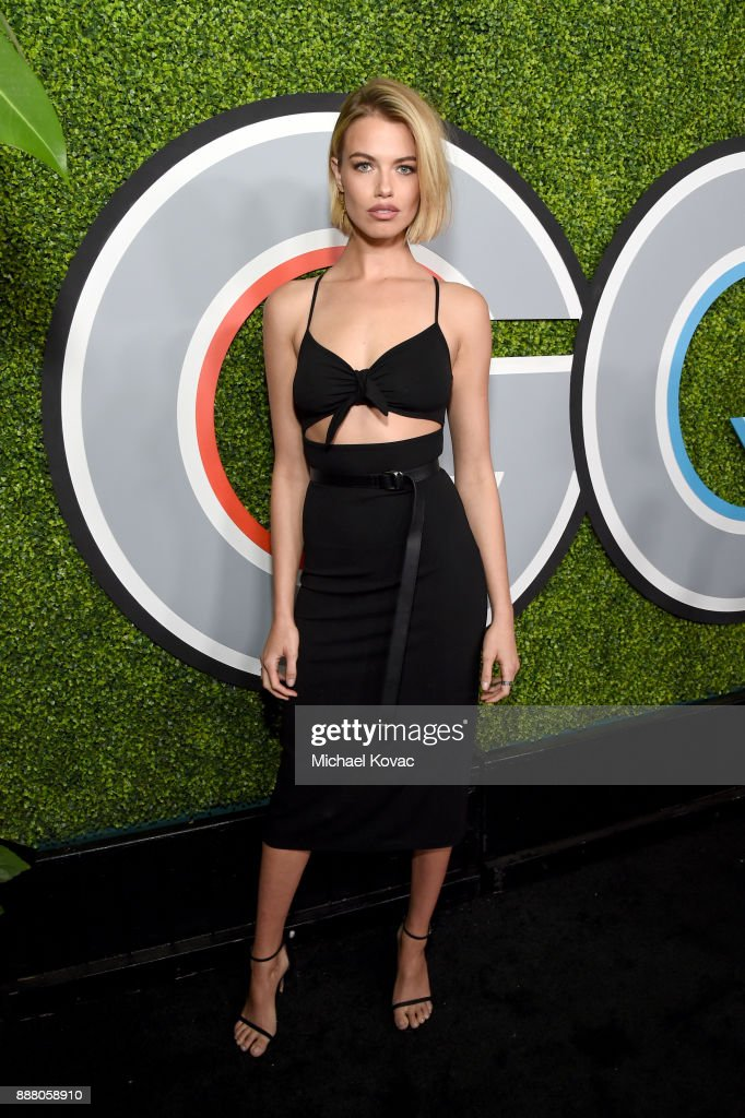 Hailey Clauson attends the 2017 GQ Men of the Year party at Chateau Marmont on December 7, 2017 in Los Angeles, California.