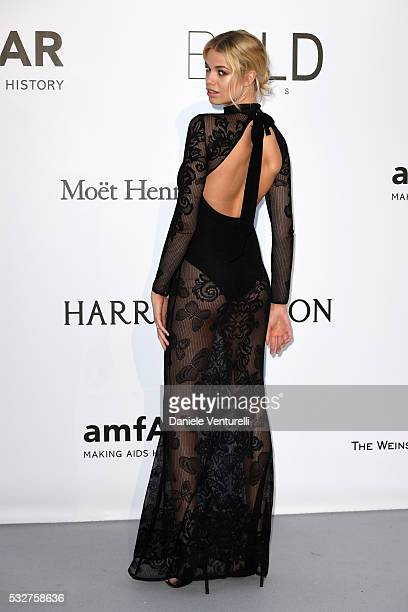 Hailey Clauson attends the amfAR's 23rd Cinema Against AIDS Gala at Hotel du CapEdenRoc on May 19 2016 in Cap d'Antibes France