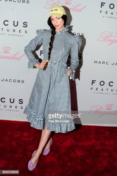 Hailey Gates attends 'The Beguiled' New York Premiere Arrivals at Metrograph on June 22 2017 in New York City