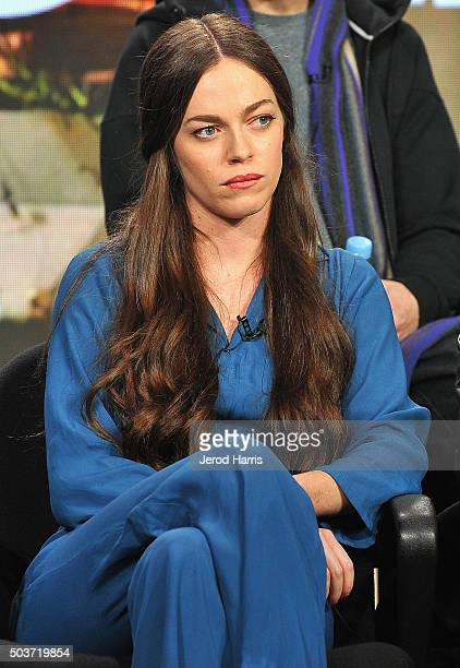 Hailey Gates attends the Viceland panel at the AE Networks 2016 Television Critics Association Press Tour at The Langham Huntington Hotel and Spa on...