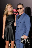 Hailey Rhode Baldwin and Stephen Baldwin attend the New York premiere of 'One Direction This Is Us' at the Ziegfeld Theater on August 26 2013 in New...