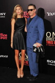Hailey Rhode Baldwin and Stephen Baldwin attend the world premiere of 'One Direction This Is Us' at the Ziegfeld Theater on August 26 2013 in New...
