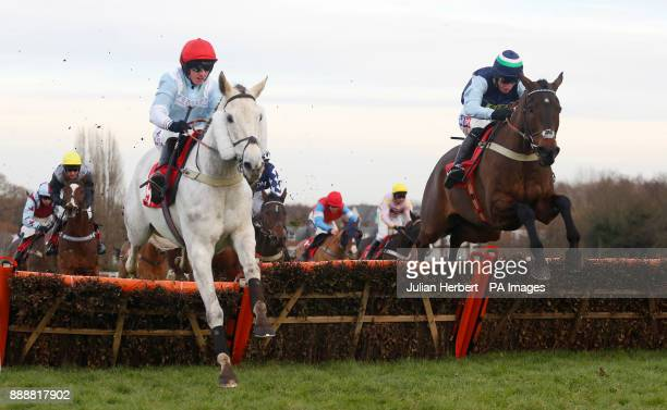 A Hair Breath and Daryl Jacob trail Caid Du Lin and Charlie Hammond over the last flight before going on to win The Jumeirah Hotels and Resorts...
