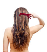 Comb your hair delicately after washing hair