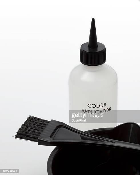 Haar zeigen und Farbe Anwendung Tools
