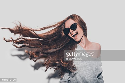 Hair like fire. : Photo