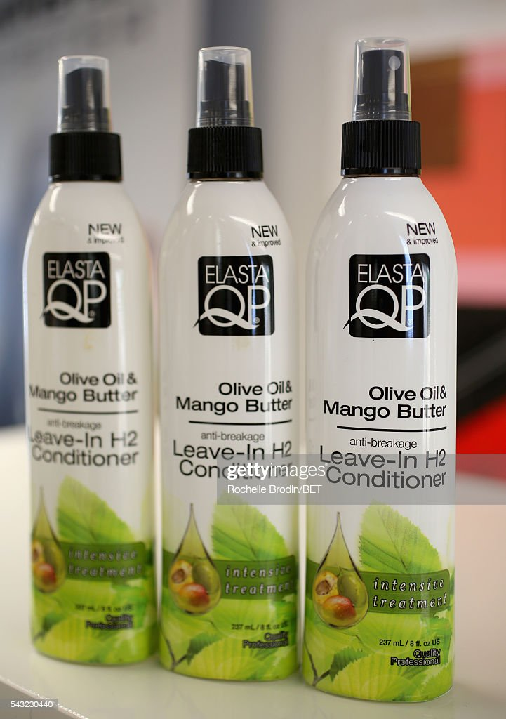 Hair products are displayed at the BETX gifting suite during the 2016 BET Experience on June 26, 2016 in Los Angeles, California.