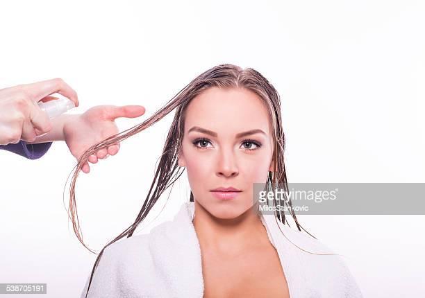 Hair repair treatment