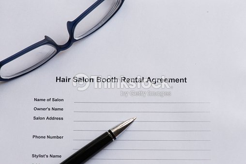 Hair Salon Booth Rental Agreement Stock Photo Thinkstock