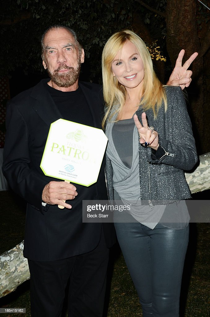Hair stylist Paul Mitchell and his wife Eloise Dejoria attend the Malibu Boys And Girls Club Fundraiser to introduce the 2013 BGCM Youth of the Year on October 19, 2013 in Malibu, California.