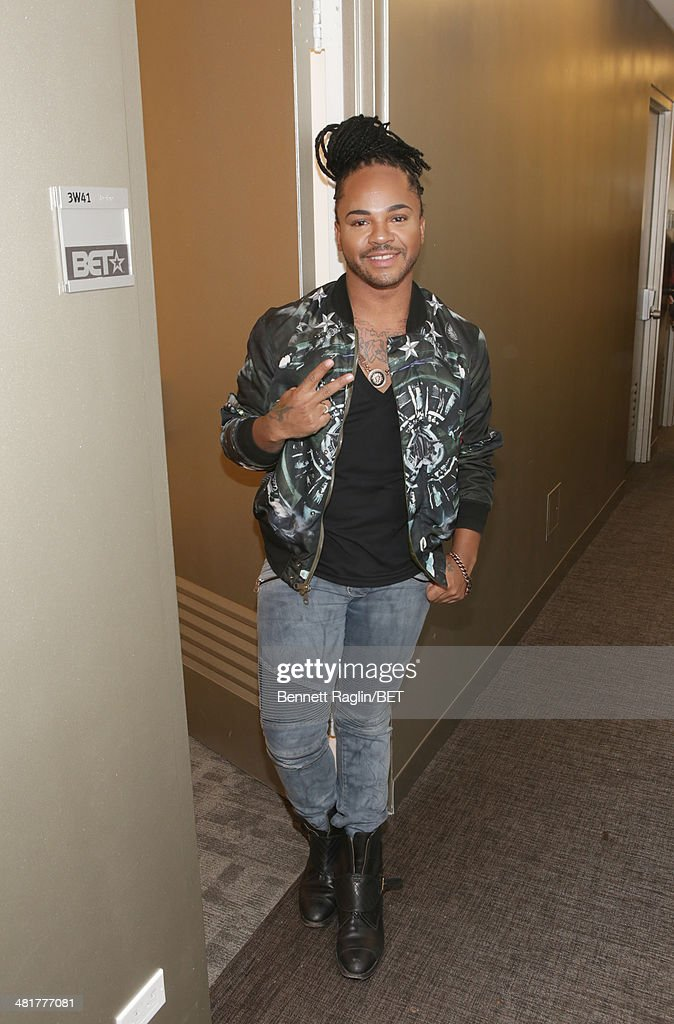Hair stylist Q visits 106 & Park at BET studio on March 31, 2014 in New York City.