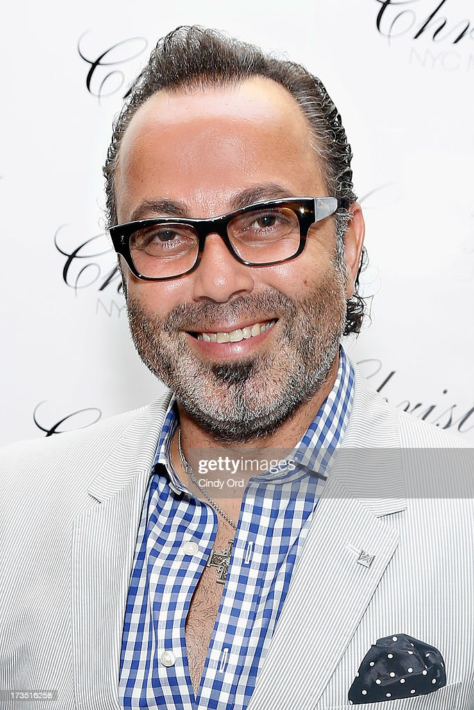 Hair stylist/ salon owner Christo attends the Christo Men NYC Press Preview at Christo Fifth Ave on July 15, 2013 in New York City.