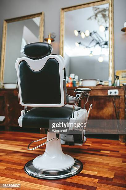 Hairdresser chair in a barber shop