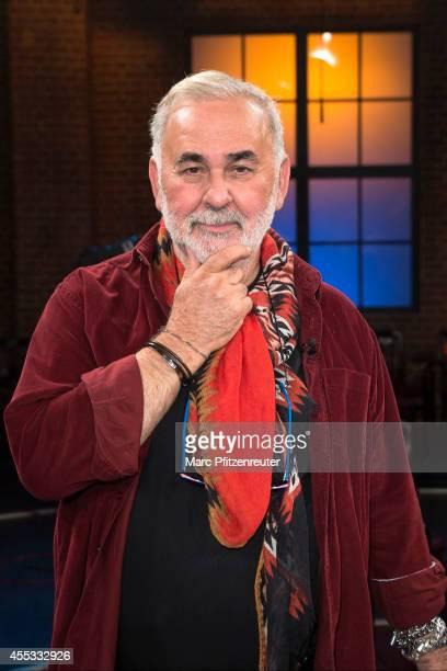 Hairdresser Udo Walz attends the 'Koelner Treff' TV Show at the WDR Studio on September 12 2014 in Cologne Germany