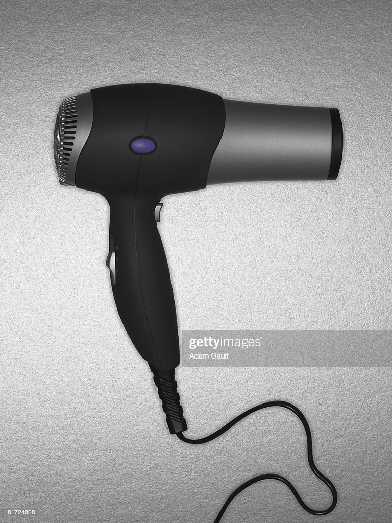 A hairdryer : Stock Photo