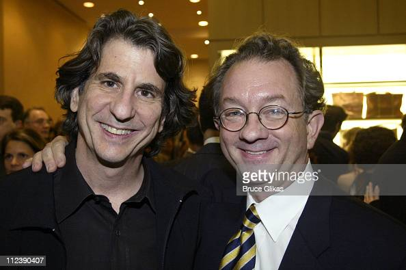Hairspray design nominees David Rockwell and William Ivey Long