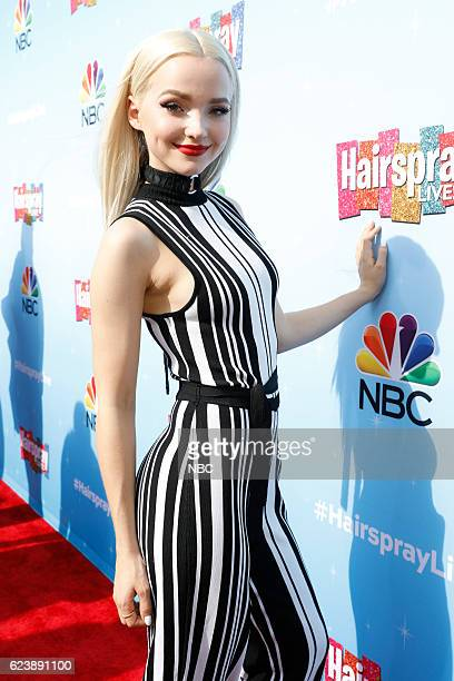 LIVE 'Hairspray Live Press Junket Pictured Dove Cameron