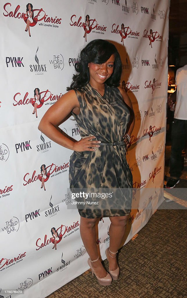 Hairstylist Lavette Slater attends the Salon Diaries Launch at Trump World Bar on July 30, 2013 in New York City.