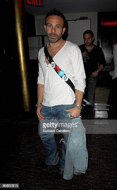 Hairstylist Michael Angelo attends the after party of 'Pray The Devil Back To Hell' hosted by Cadillac held at Koi Lounge during the 2008 Tribeca...