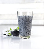 Hairy basil seed for drink - Healty food