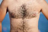 """Hairy body,Man."""