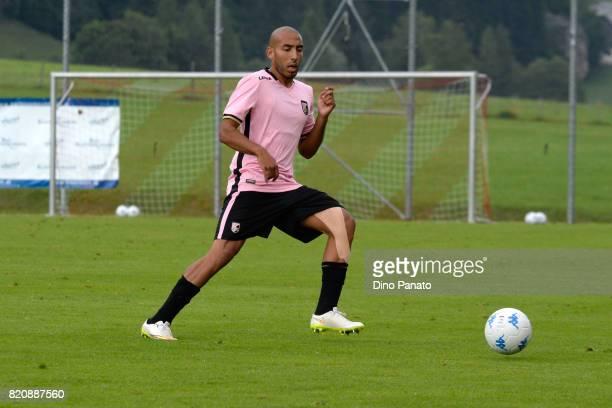 Haitam Aleesami of US Citta di Palermo in action during the PreSeason Friendly match bewteen US Citta di Palermo and ND Ilirija at Sport Arena on...