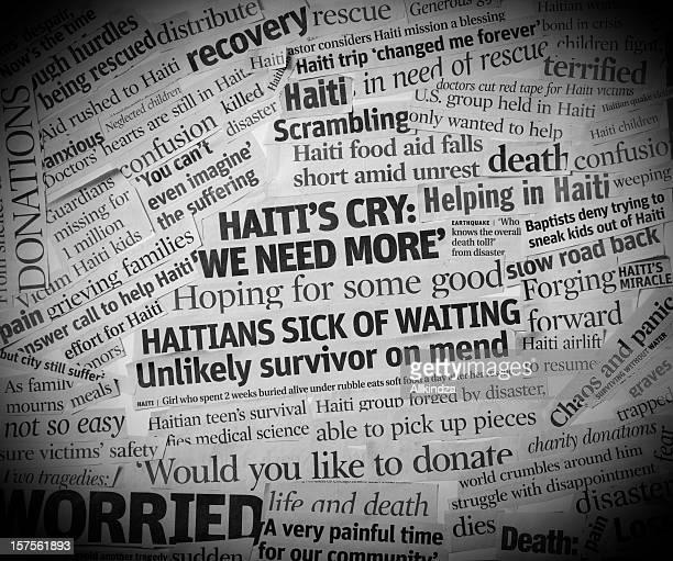 Haïtien tremblement de terre titres III