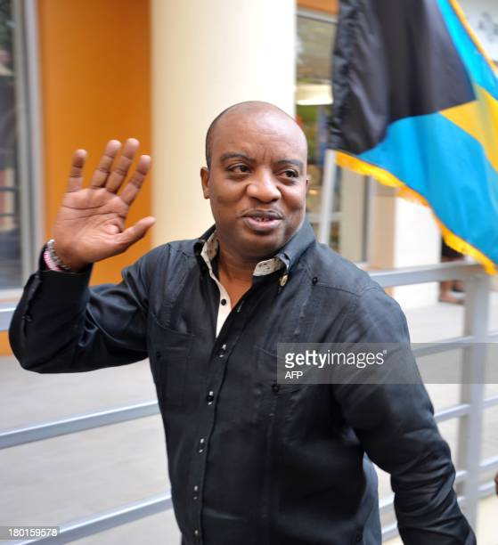 Haitian Minister of Foreign Affairs Pierre Richard Casimir arrives for the Petrocaribe Ministerial Council meeting on September 9 2013 in...