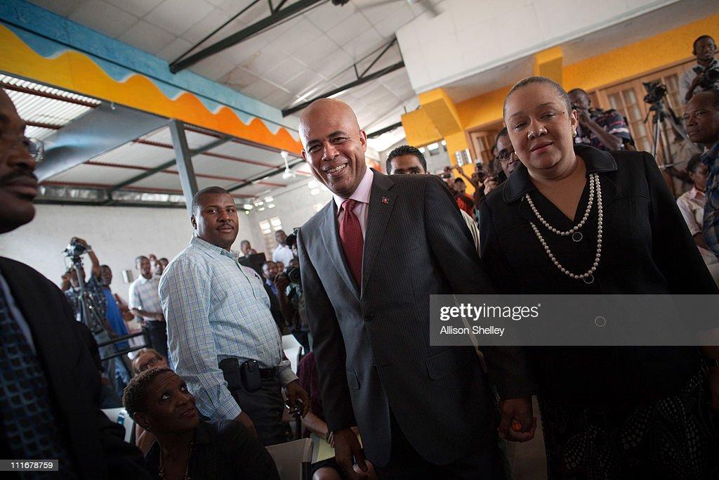 "Musician Michel ""Sweet Micky"" Martelly Declared Winner Of Haiti's Presidential Election"