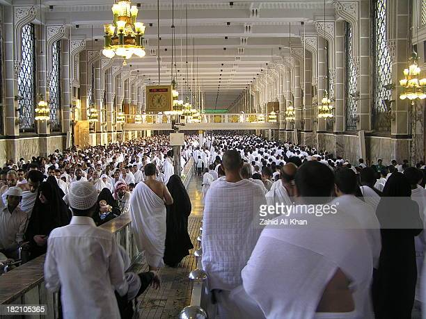 CONTENT] Hajis moving between Safa and Murwa during their Umrah proceedings Hajis take seven rounds of safa and marwa hills as a part of their Umrah...