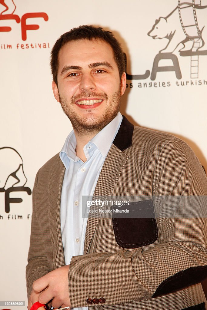 Hakan Hucum attends The 2nd Annual Los Angeles Turkish Film Festival Opening at the Egyptian Theatre on February 28, 2013 in Hollywood, California.