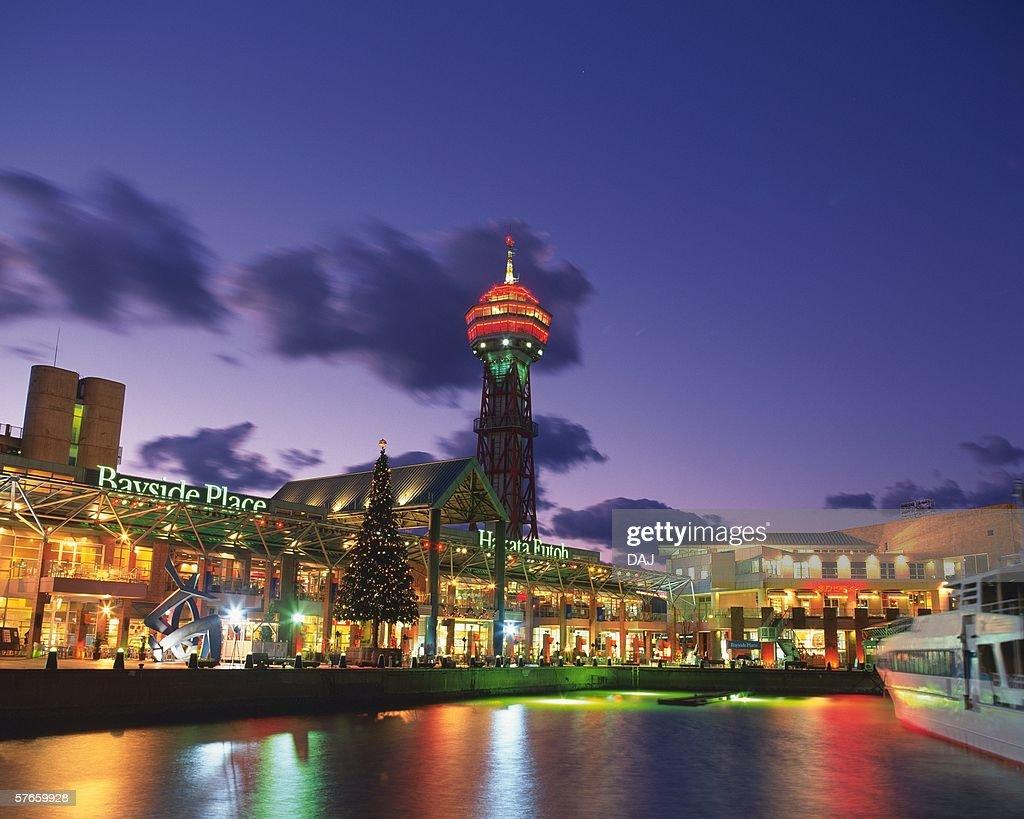 Hakata Wharf in Christmas