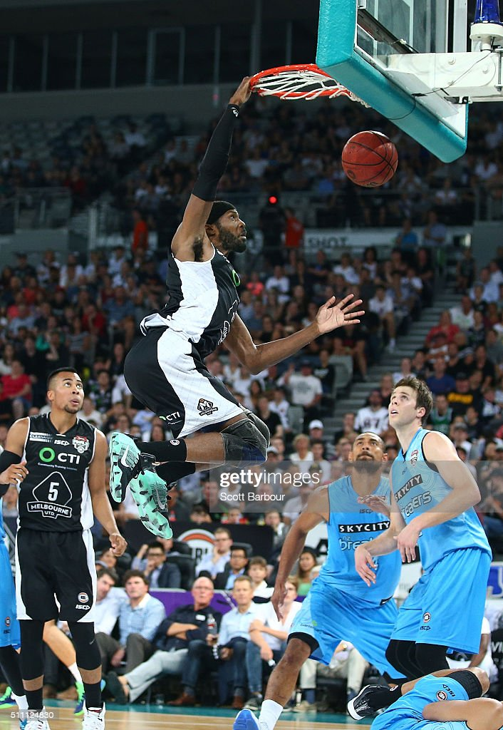 NBL Semi Final - Melbourne v New Zealand